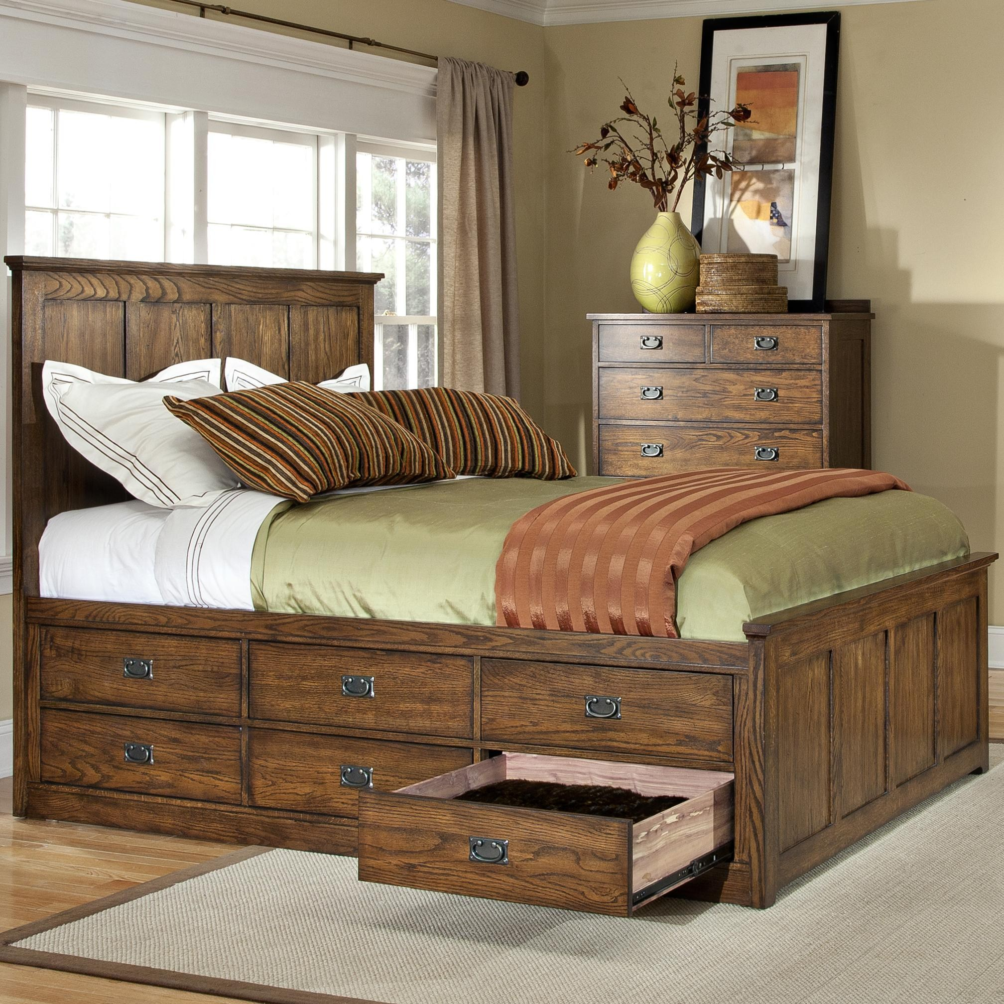 Use space under the bed sensibly and comfortably: beds with under drawer storage