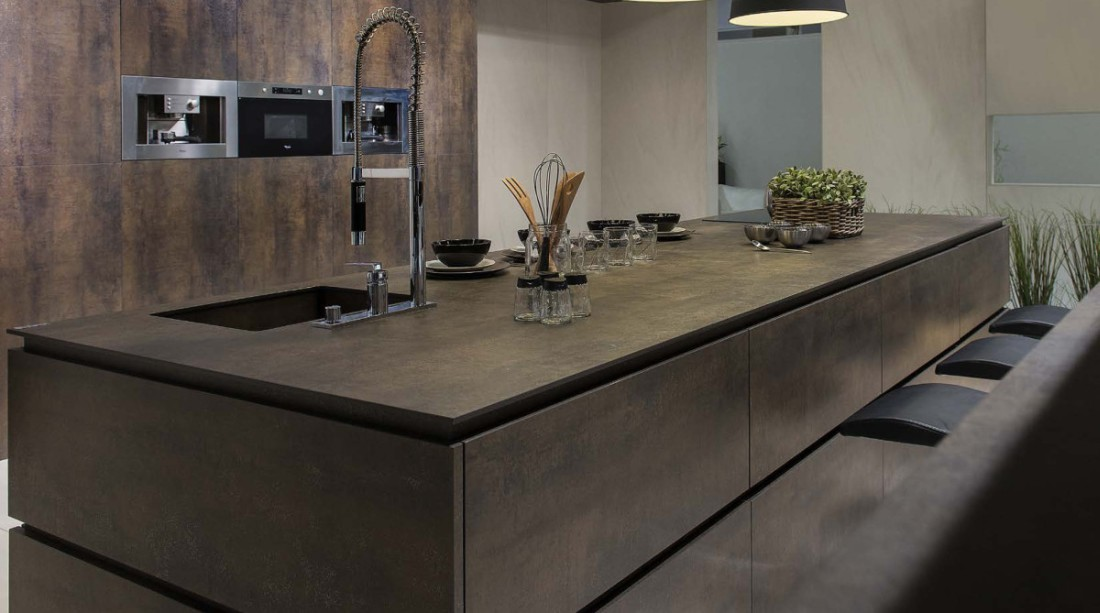 ceramic worktop kitchen worktops. ceramic. neolith iron. OVJMGCP