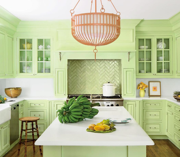 colorful kitchen design ideas LRTBUWF