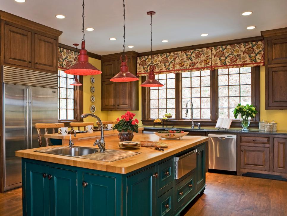 Colorful design of the kitchen: pictures and ideas for colored kitchens