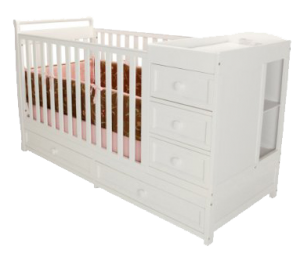 cribs with storage underneath good storage ... NASDZNZ