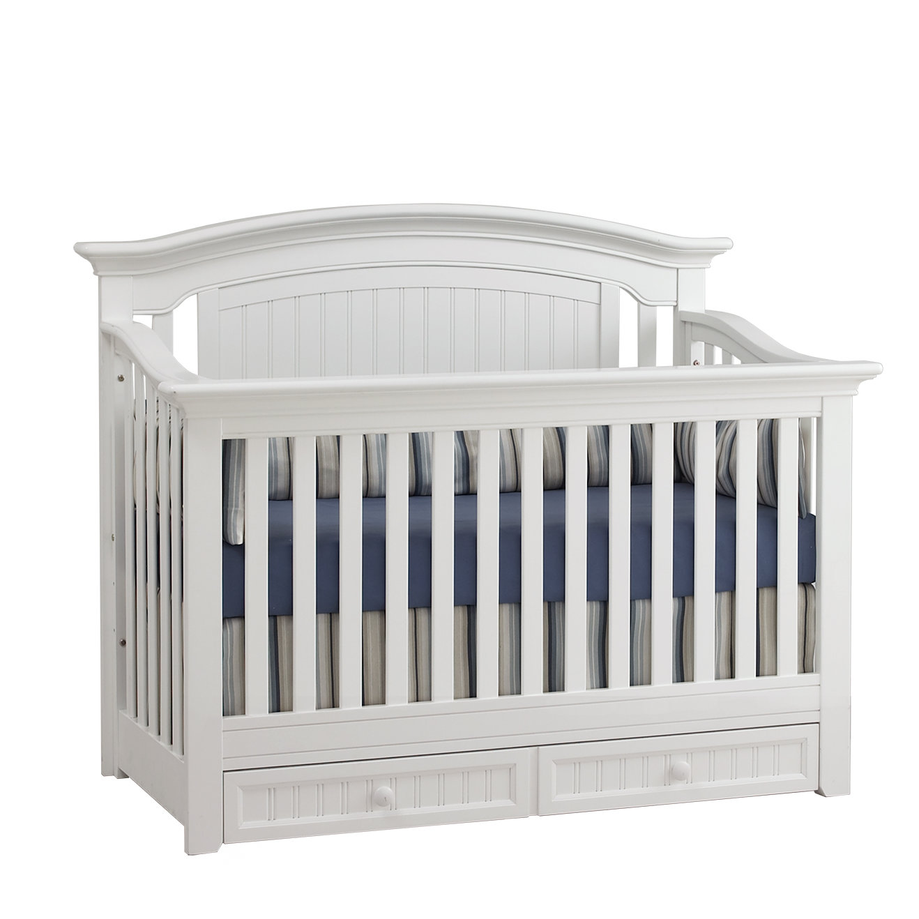 cribs with storage underneath winchester 4-in-1 convertible crib PZYBESK