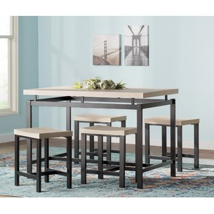 dining table for kitchen bryson 5 piece dining set WVNIACR