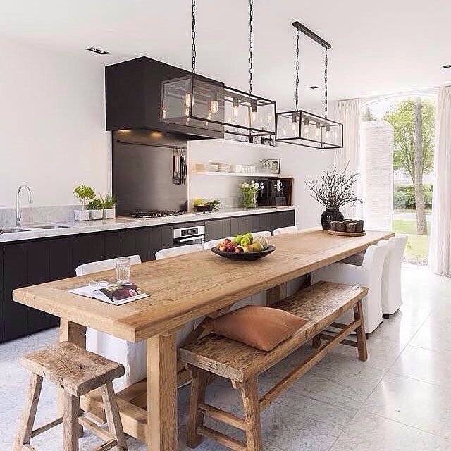 dining table for kitchen this is your favourite kitchen on the @immyandindi page in both october and WLKYGBR