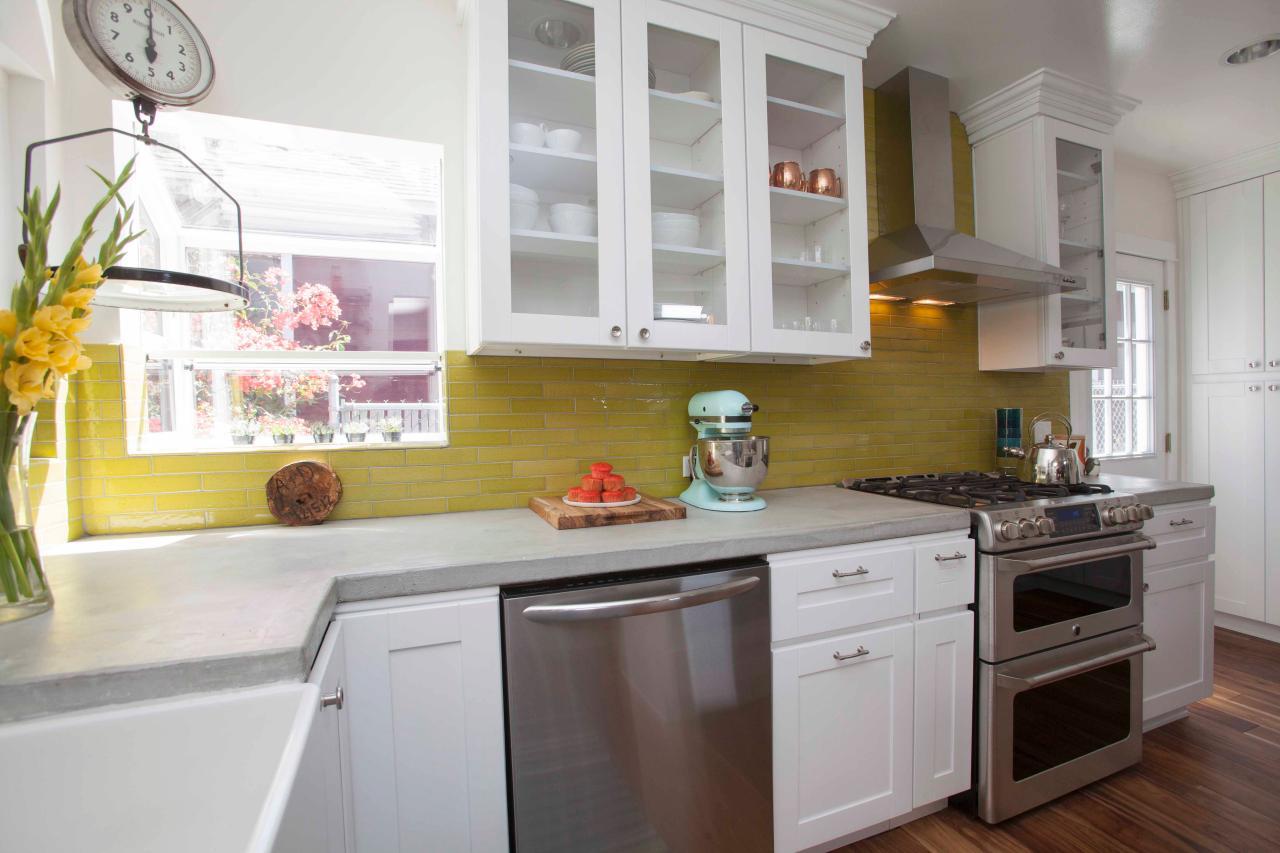 diy kitchen renovation ideas 7. color it big RCXYIQU