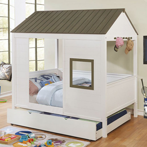 house beds omestad full size house bed cm7133(fafs) RZHNBHF
