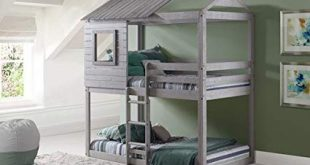 house beds play house bunk beds - free storage pockets MUZLMTC