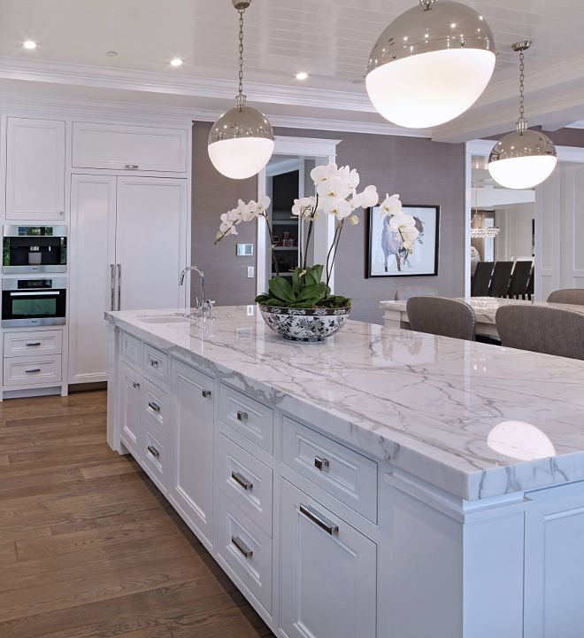 kitchen ideas with marble countertops luxury white kitchen design ideas (26) | home decore in 2018 | pinterest JUXGXZT