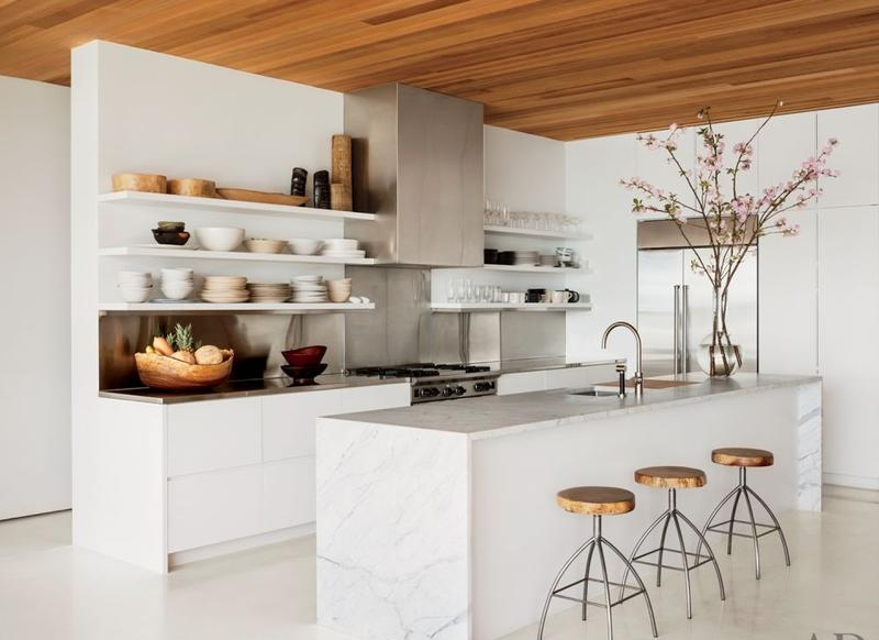 Kitchen in U-shape with bar 20 functional u- shaped kitchen design ideas UAPTEQC