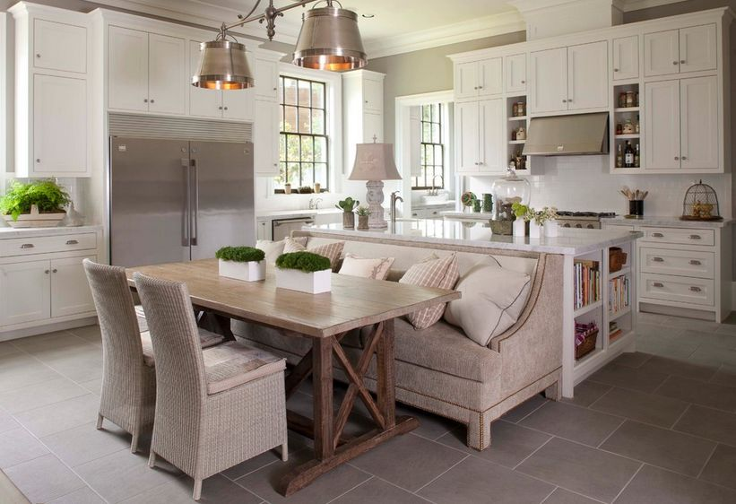 kitchen with bench seating how a kitchen table with bench seating can totally complete your home VCBHSPO