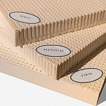 Latex mattresses 100×200 100% natural latex mattress topper - medium - 2 ... IQRYOUT