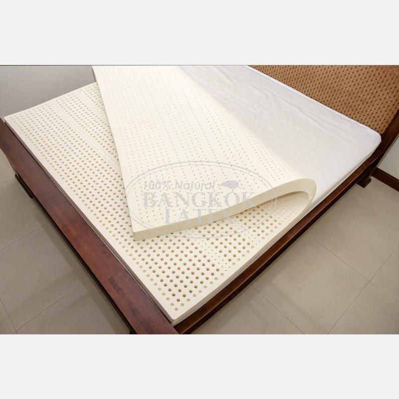 Latex mattresses 140×200 маттress of night harvesting natural latex 140*200*7.5 cm - photo - 5 DGMFSGR