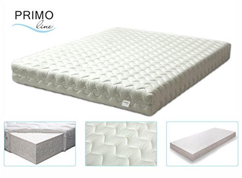 Latex mattresses 140×200 primo line coral 100% latex mattress - firmness rating f - h3 - BIPHIGM