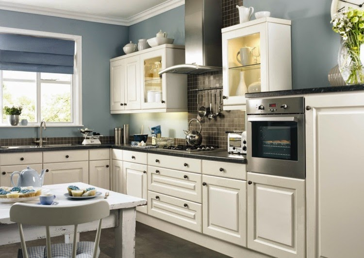 modern kitchen wall color ideas contrasting kitchen wall colors: 15 cool color ideas LEENULX