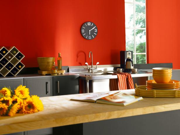 modern kitchen wall color ideas modern-kitchen-paint-colors_4x3 UOHJWSI