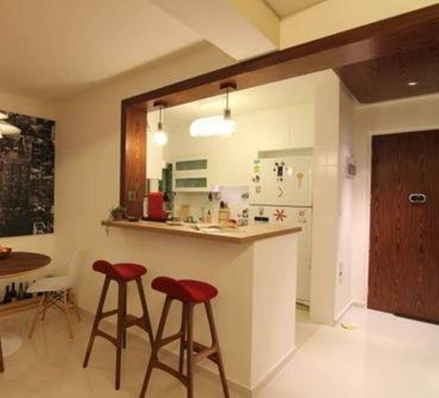 modern kitchen with bar counter counter kitchen bar design for small areas questa cucina è affianco  allu0027ingresso BLCDPUI