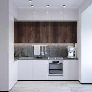 Modern L shaped kitchens small modern eat-in kitchen pictures - eat-in kitchen - small modern l HKMQDHL