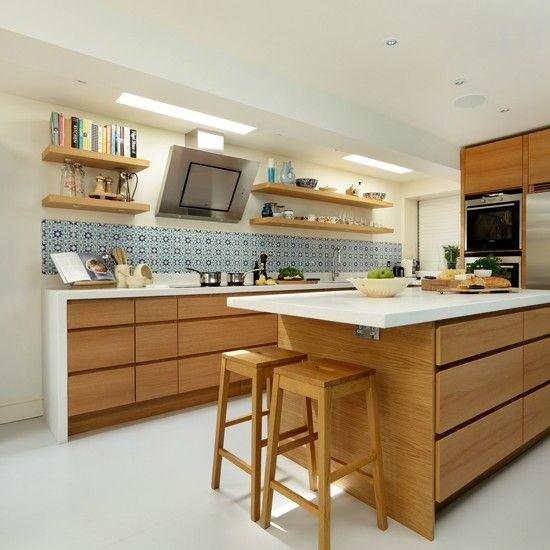 modern wood kitchens 20 cool modern wooden kitchen designs OLICDSS