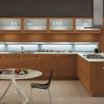 Interior design ideas and kitchen pictures for modern wood kitchens