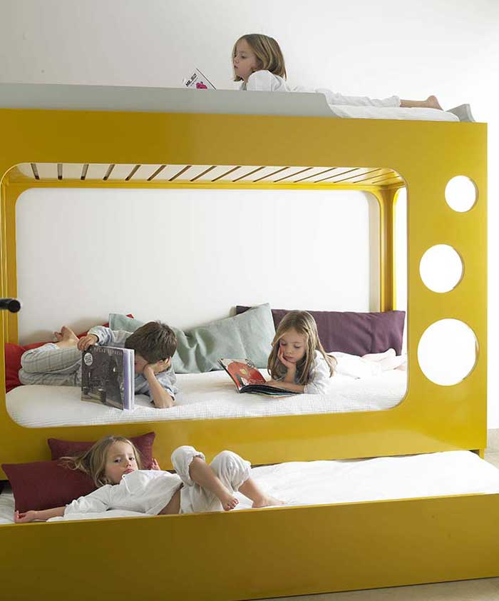 Multifunctional children beds this stellar bunk bed makes me wish i was a kid again. bedroom KIFYVID