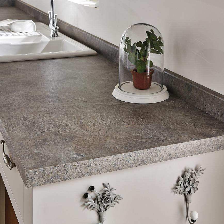 Natural stone worktop natural stone grey 38mm square edge worktop 3m length MPWTQXO