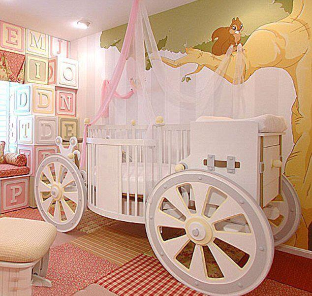Princess Cots heres the picture which enticed my curiousity.. beyonceu0027s baby blueu0027s  nursery.. now NFGHOAW
