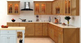 Pros and cons of L shaped kitchen ... this kitchen design utilises two adjacent walls forming an l-shape.  here OFVSYOO