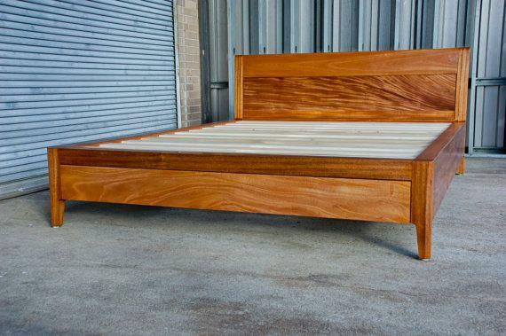 queen size solid wood beds gorgeous solid wood platform bed no.2 queen size with by wilburdavis UZAKFQC