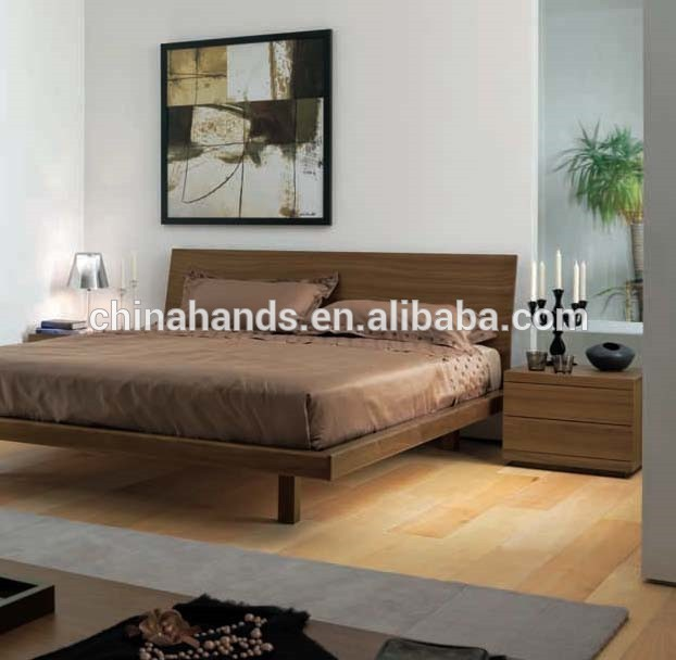 queen size solid wood beds queen size bed bedroom furniture modern simple wooden bed designs - buy wooden IRJCWTP