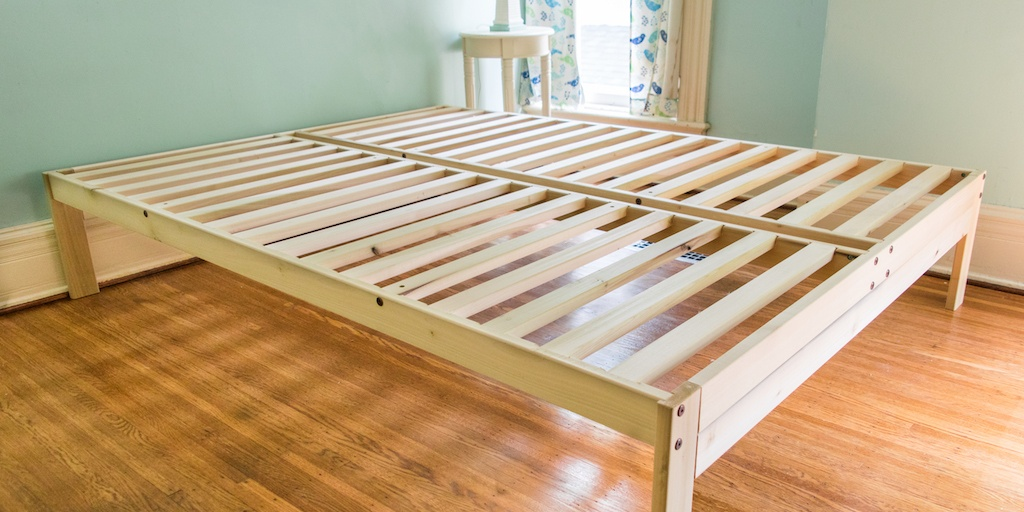 Slatted frames 100×200 the best platform bed frames under $300 ZQTCTOE