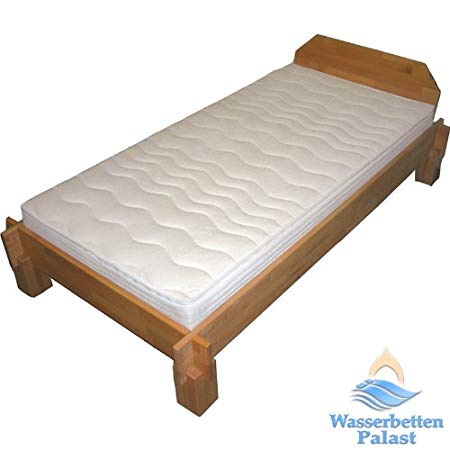 Slatted frames 90×200 moonlight wellness water bed waterbed mattress for slatted frame cover  terrycloth 90% ZEGPONX