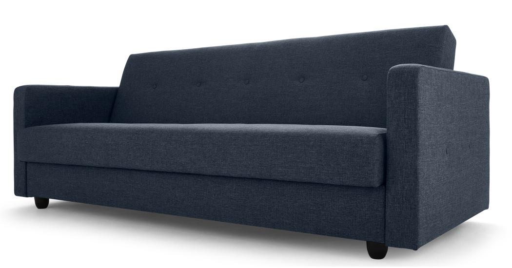 sofa beds with storage underneath chou sofa bed with storage, quartz blue | made.com JYPDIVS