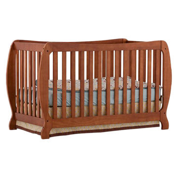 solid wood baby crib ... china baby crib with stylish solid wood VLHWCCJ