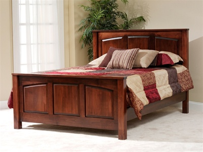 Solid wood beds fern green solid wood panel bed QVWPGFT