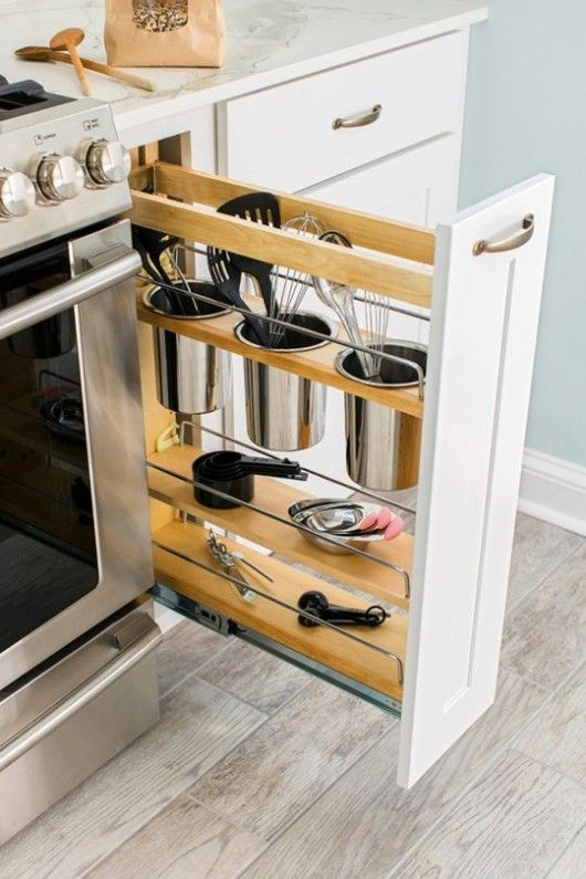 space saving storage ideas for kitchen diy storage ideas: 24 space saving clever kitchen storage and organization  ideas FVIKMXU