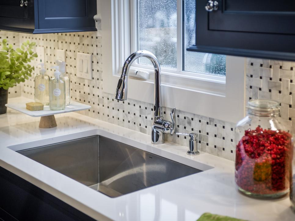 stone countertop kitchen our 13 favorite kitchen countertop materials | hgtv LEZXWNH