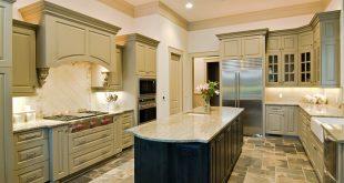 u shaped kitchen layout with island beautiful arranged u shaped kitchen with island CSZNHAM
