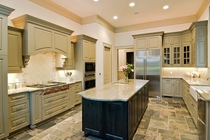 U shaped kitchens: pictures, examples, advantages and disadvantages