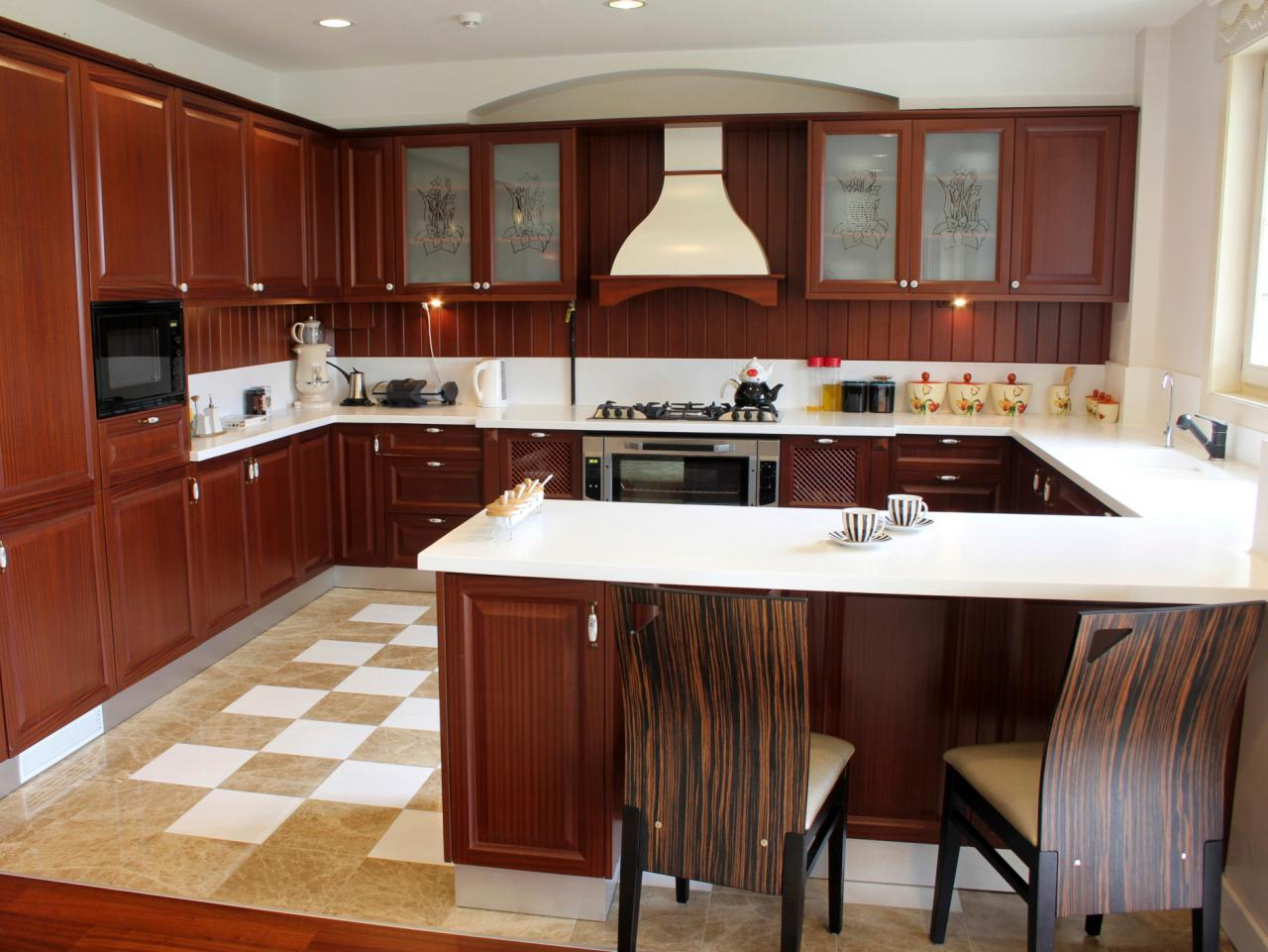 u shaped kitchen layout with island u-shaped kitchens MLJKRHG