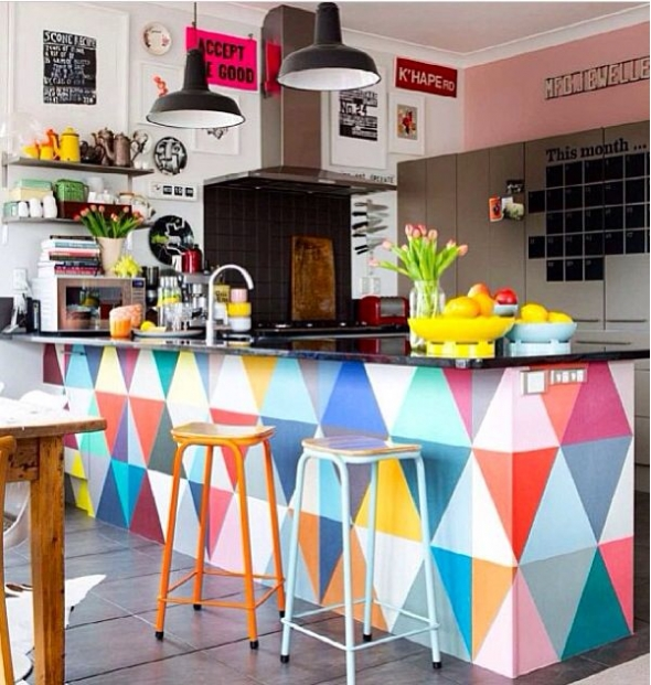 unique colorful kitchen accents IKCHTXS