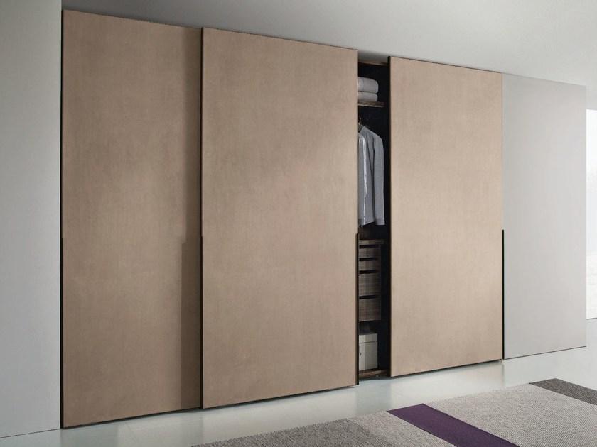 Wardrobe with sliding doors imitation leather wardrobe with sliding doors hopus | wardrobe with sliding  doors YCWNMWT