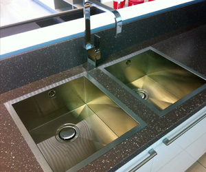 Which sink is suitable for a granite countertop granite inset sink FMLCUFB