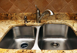 Which sink is suitable for a granite countertop stainless steel sinks MIXWWKA