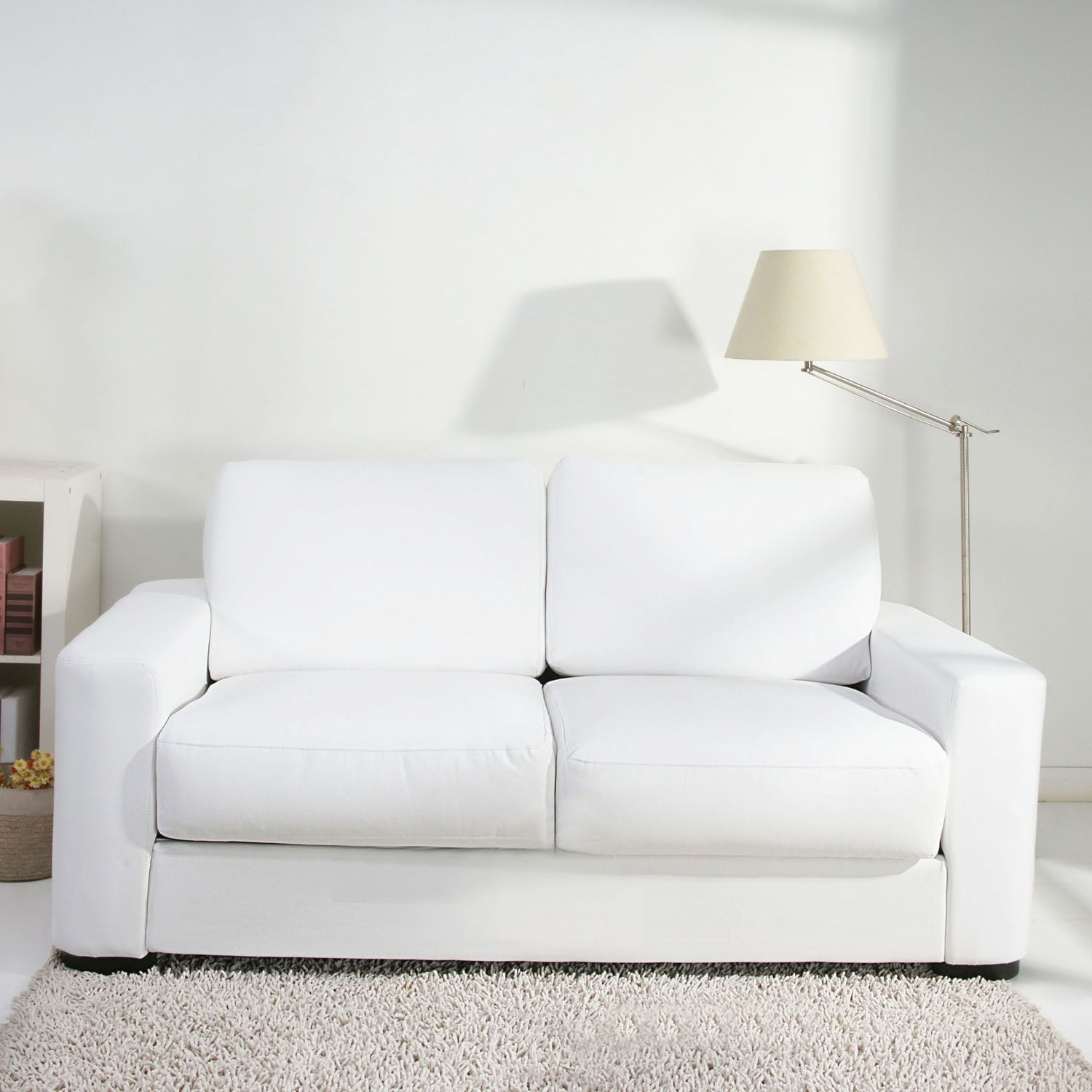 white sofa beds 6 easy steps on cleaning your white sofa white leather sofa bed, two OKGJGQR