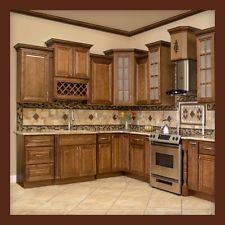 Wood kitchen all solid wood kitchen cabinets geneva 10x10 rta KQNCLBS