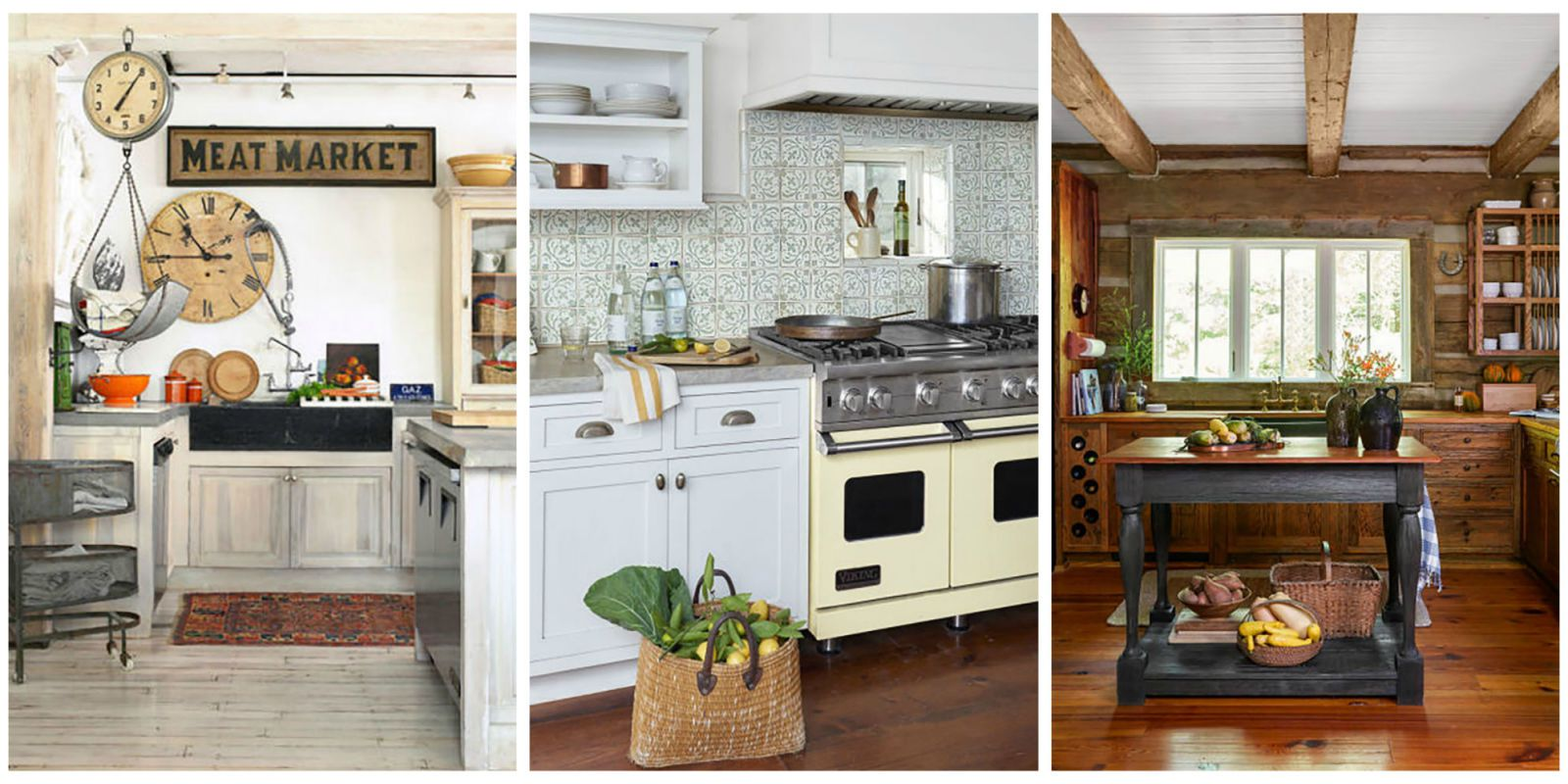 Wooden country style kitchens find more ways to add farmhouse styleto every room of the house; plus, NPFSMAL