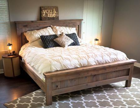Bed frames made of alder