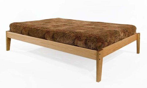 Queen Size - Solid OAK Platform Bed Frame - Eco-friendly, Clean