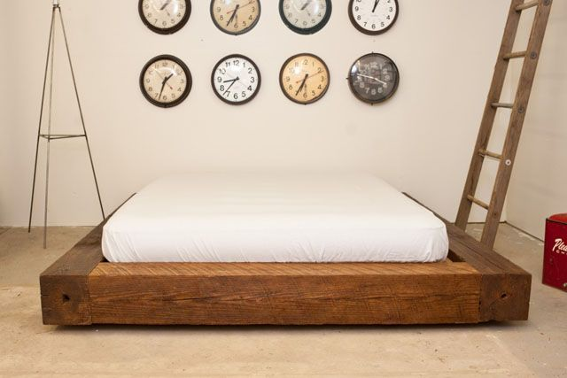 Bed Made From Old Beams | The Design Vote - Rooms in 2019