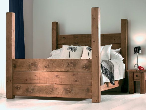 Five of the Best Pencil Post Beds | Knock out 1st | Bed, Bed Frame
